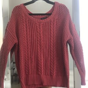 Berry Knit Sweater